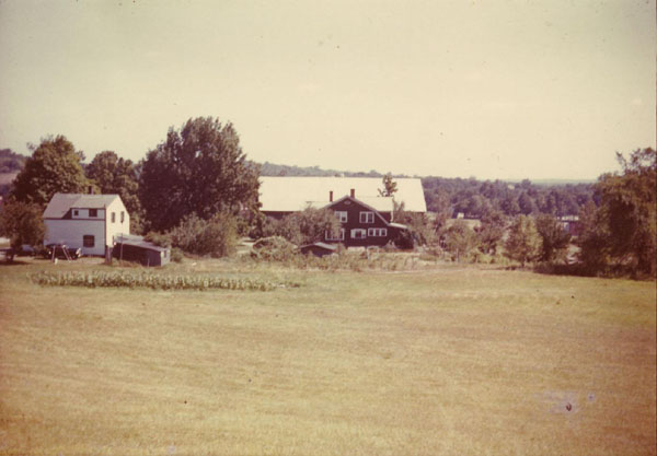 Davis Houses with Hazen-Davis Barn in Rear